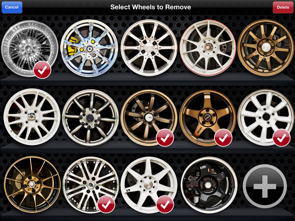 Alloy Wheels For My Car Using Mobile IOS Or Android WheelsONappcom - Rim websites that show your car