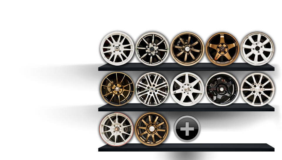 Add your own custom wheels quick and easy